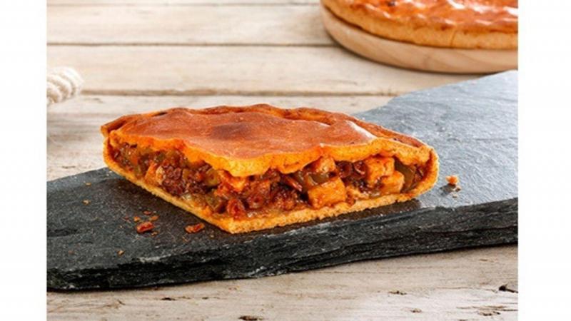 Empanada de pan de pulpo. Fuente  Productos Zabala.